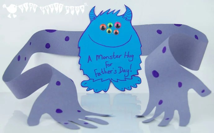 Monster Hug for Father's Day