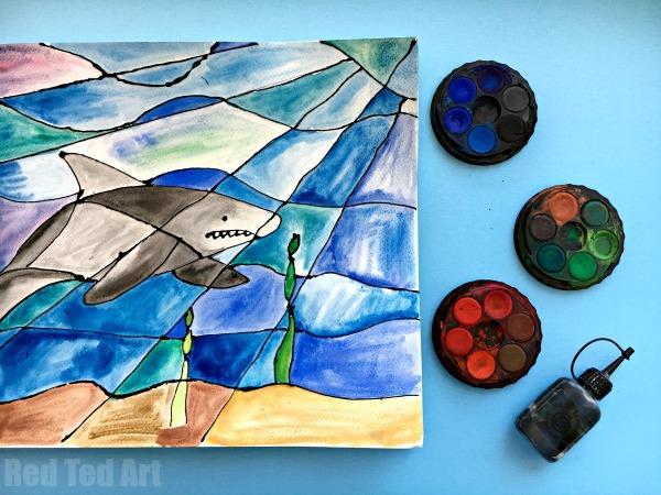 Shark Black Glue Craft
