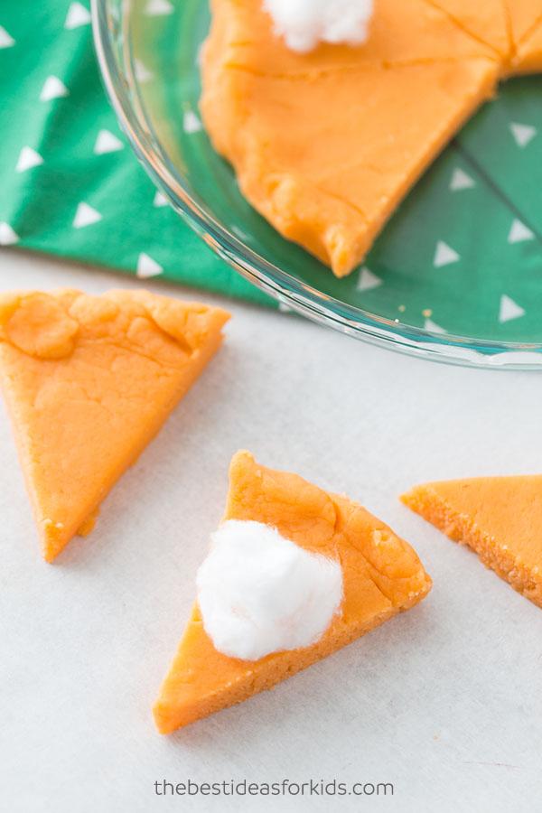 Pumpkin Pie Spiced Playdough