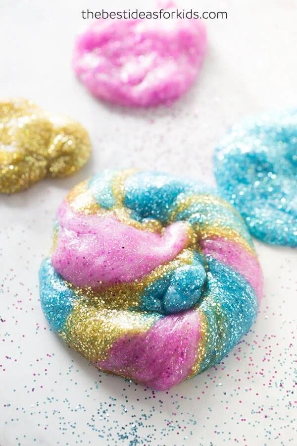 Unicorn Poop Slime Recipe