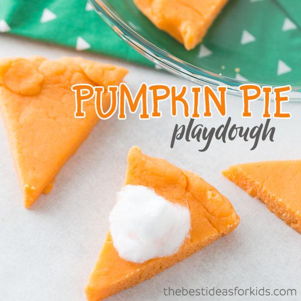 pumpkin pie playdough scented fall