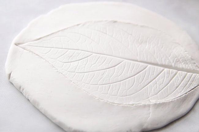 Clay Leaf Dish Craft