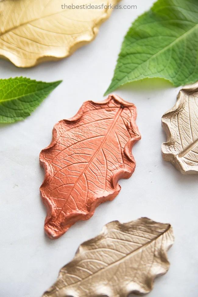 Leaf Clay Dish Clay Ideas