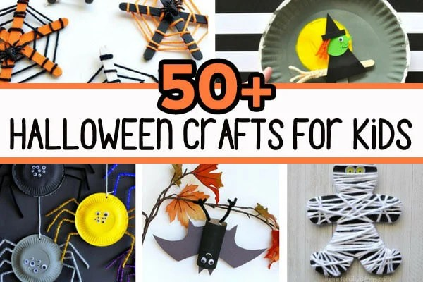 Fall Halloween Crafts.50 Halloween Crafts For Kids The Best Ideas For Kids