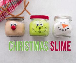 Christmas Slime Recipe