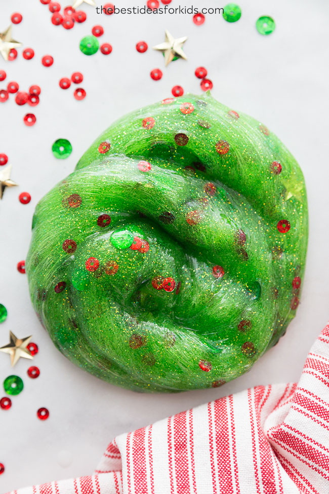 Christmas Slime Christmas Tree