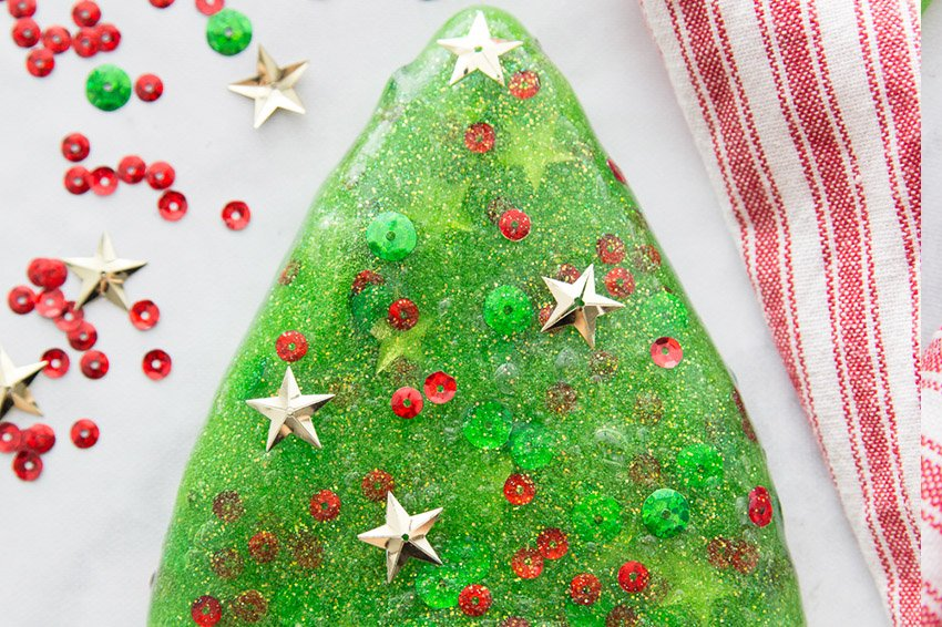 Christmas Tree Slime Recipe The Best Ideas For Kids