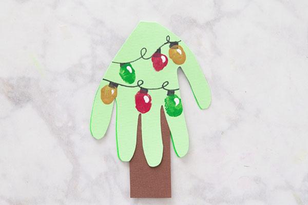 Fingerprint Christmas Crafts