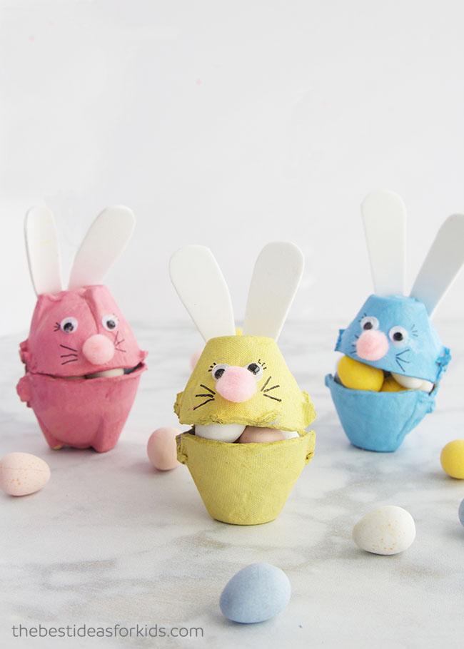 Easter Egg Carton Craft for Kids