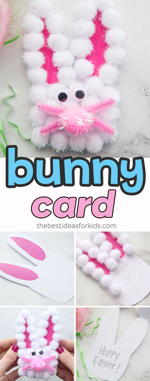 Easter Bunny Card Craft for Kids