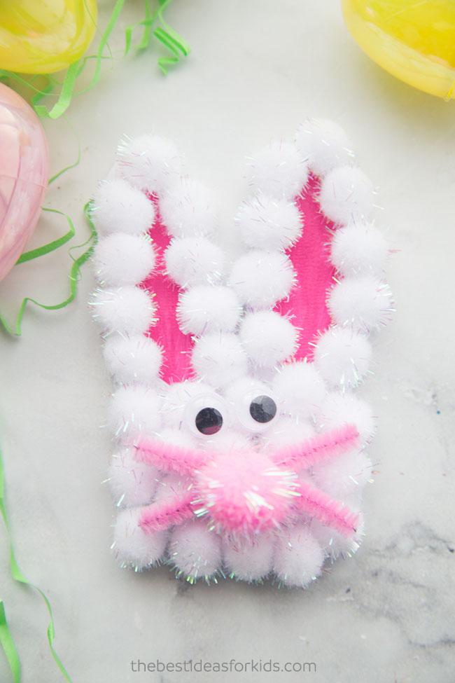 Easter Bunny Handprint