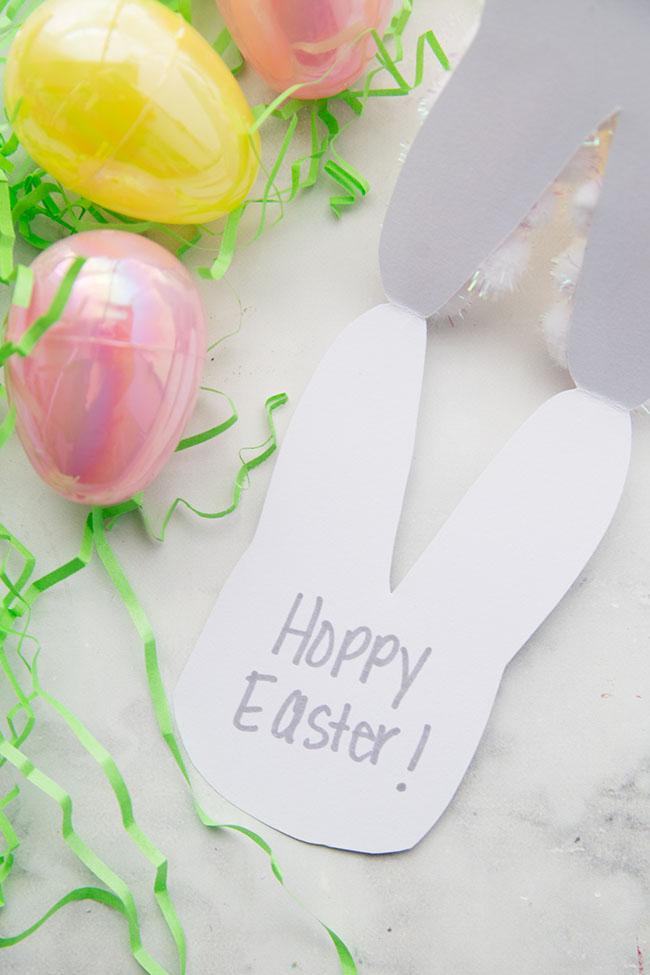 Handprint Easter Card