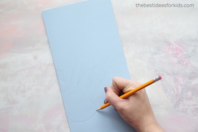 Handprint Trolls Craft