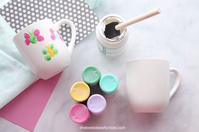Mug Painting DIY Materials