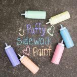 Sidewalk Paint Puffy