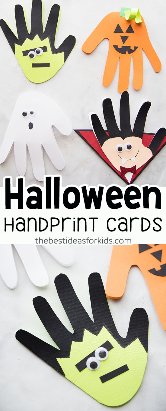 Halloween Handprint Crafts for Kids