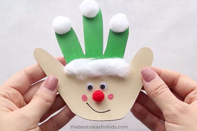Christmas Handprint Art