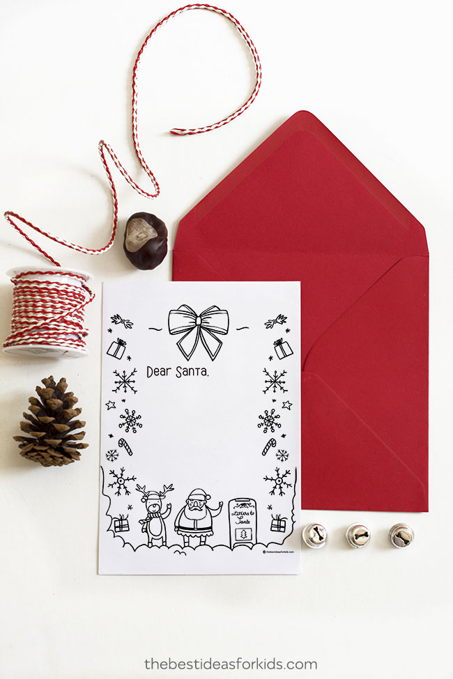Letter to Santa Printable Template