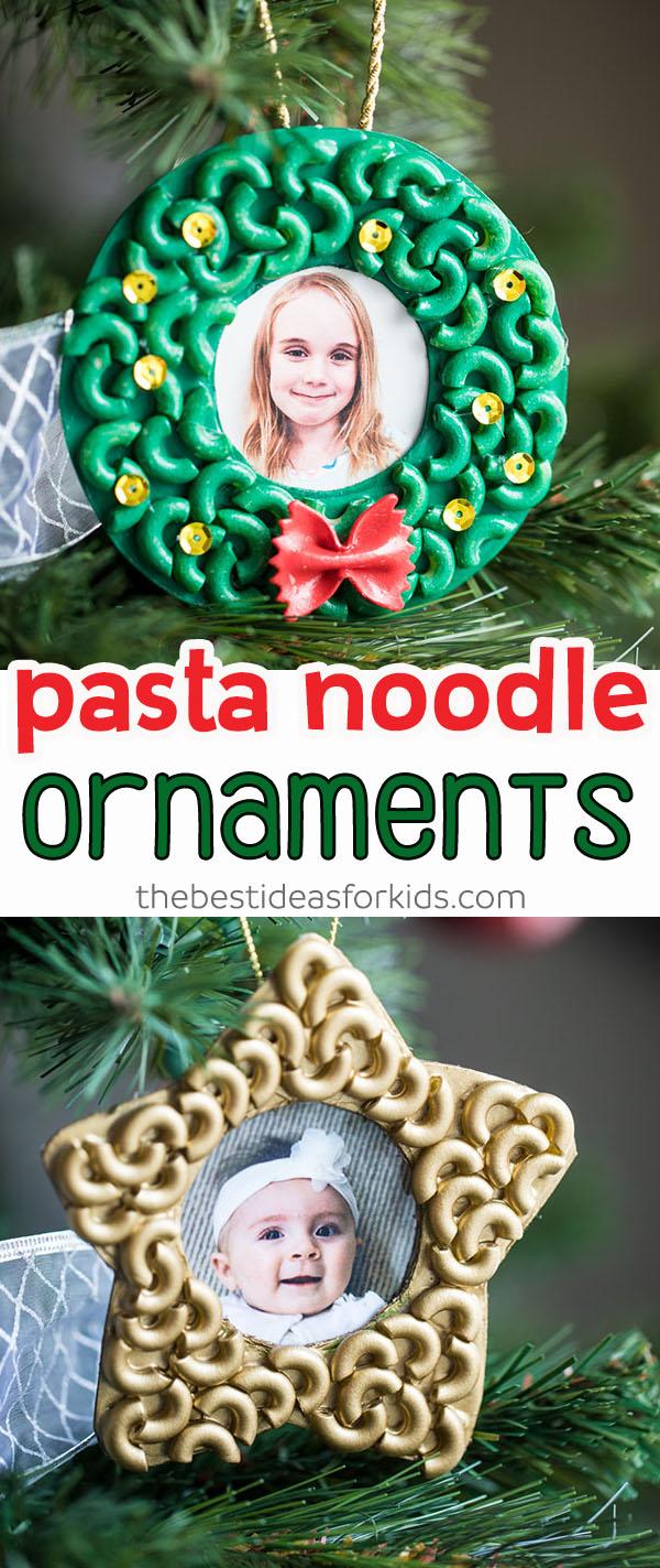 Pasta Noodle Ornaments