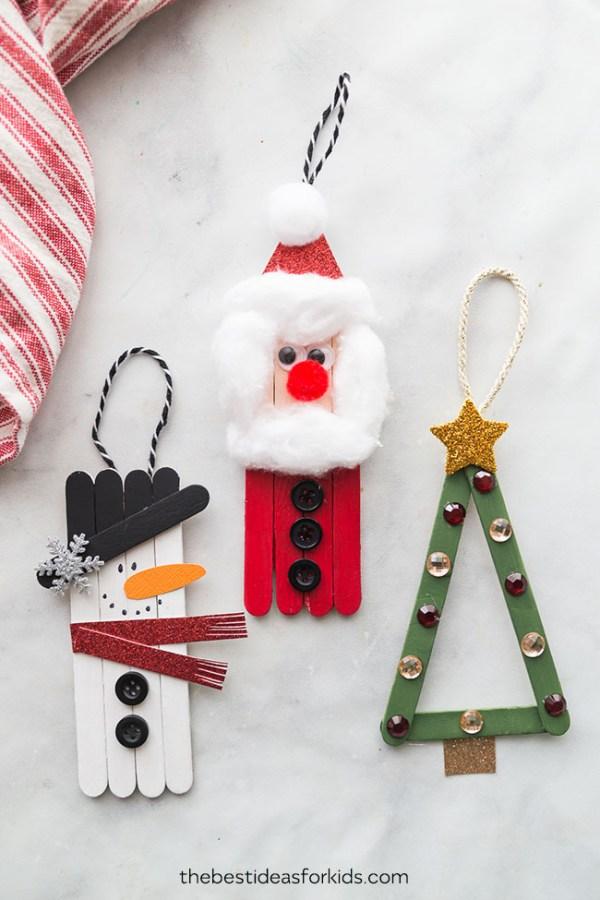 christmas ornaments popsicle sticks # 2