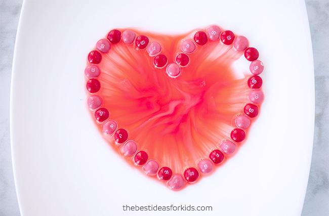 Heart Skittles Experiment
