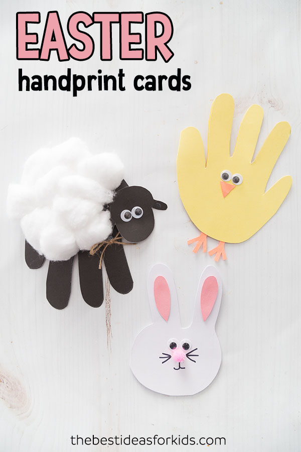 Easter Craft Easter Handprint Cards