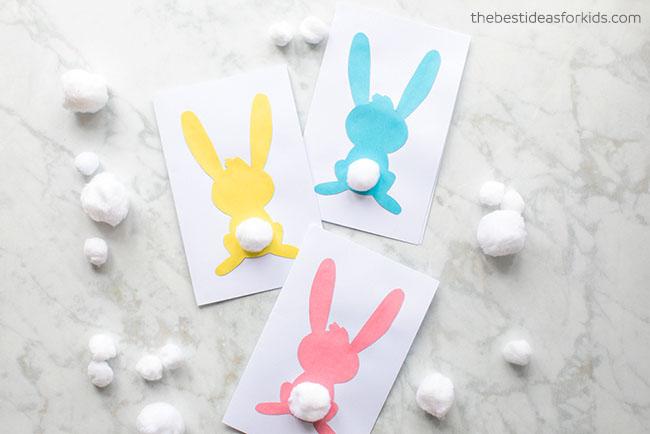 Bunny Silhouette Card
