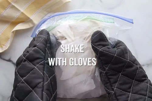 Shake Bag with Gloves