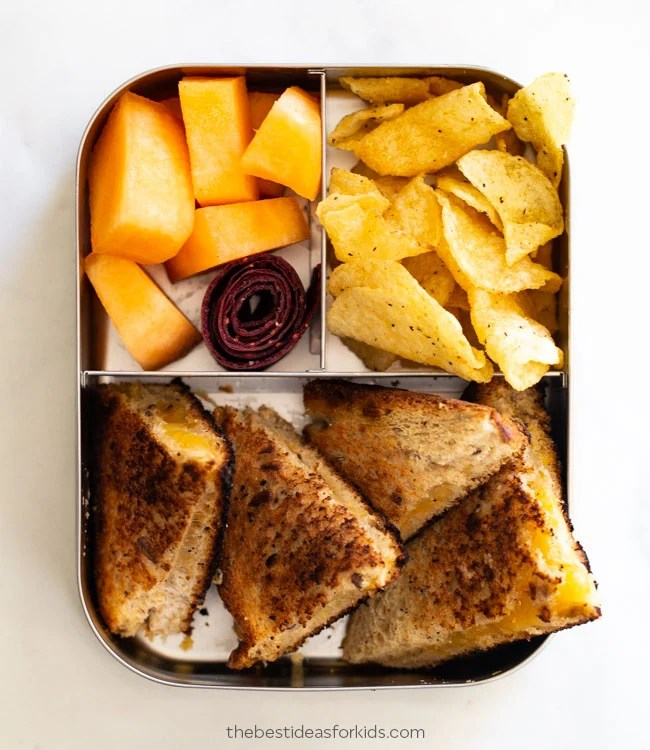 Grilled Cheese Lunch Box
