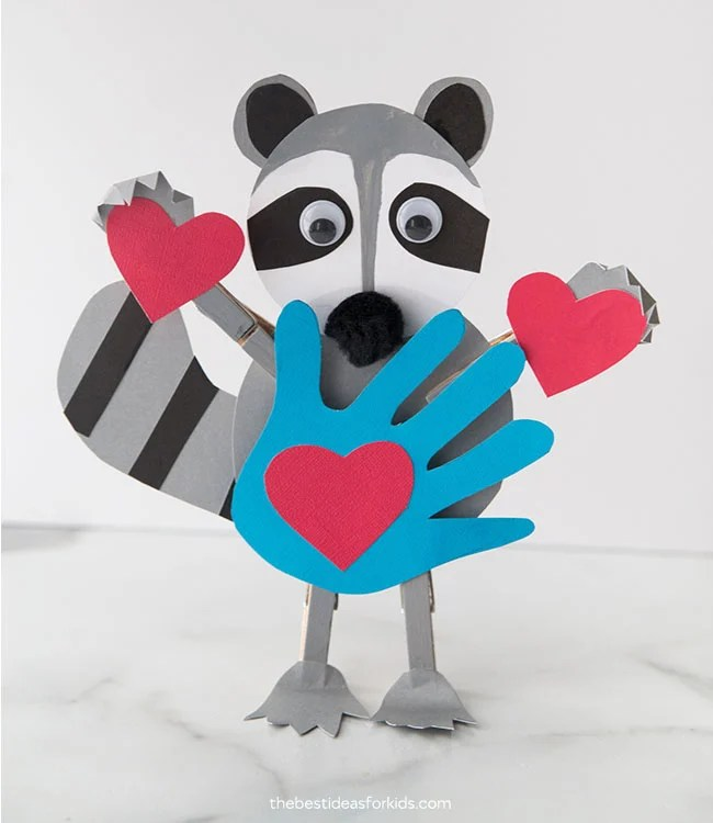 Kissing Hand Crafts for Kids