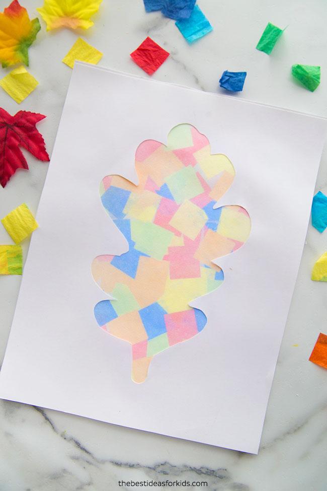 Leaf Art Bleeding Tissue Paper