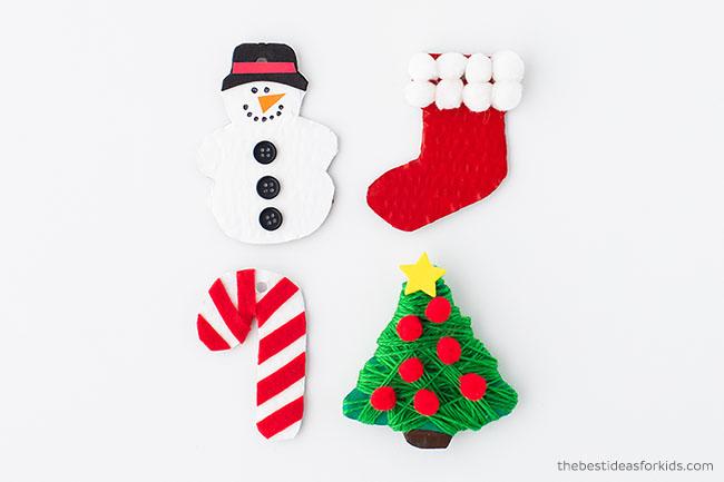 DIY Cardboard Ornaments