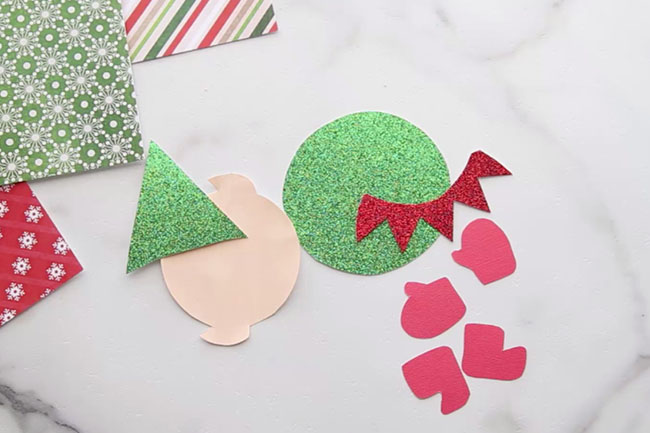 Elf Clothespin Craft Template