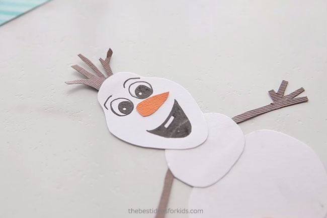 Glue on Olaf Nose