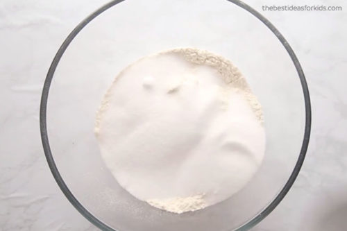 Salt and Flour Handprint Ornaments