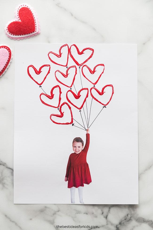 Balloon Valentine Craft
