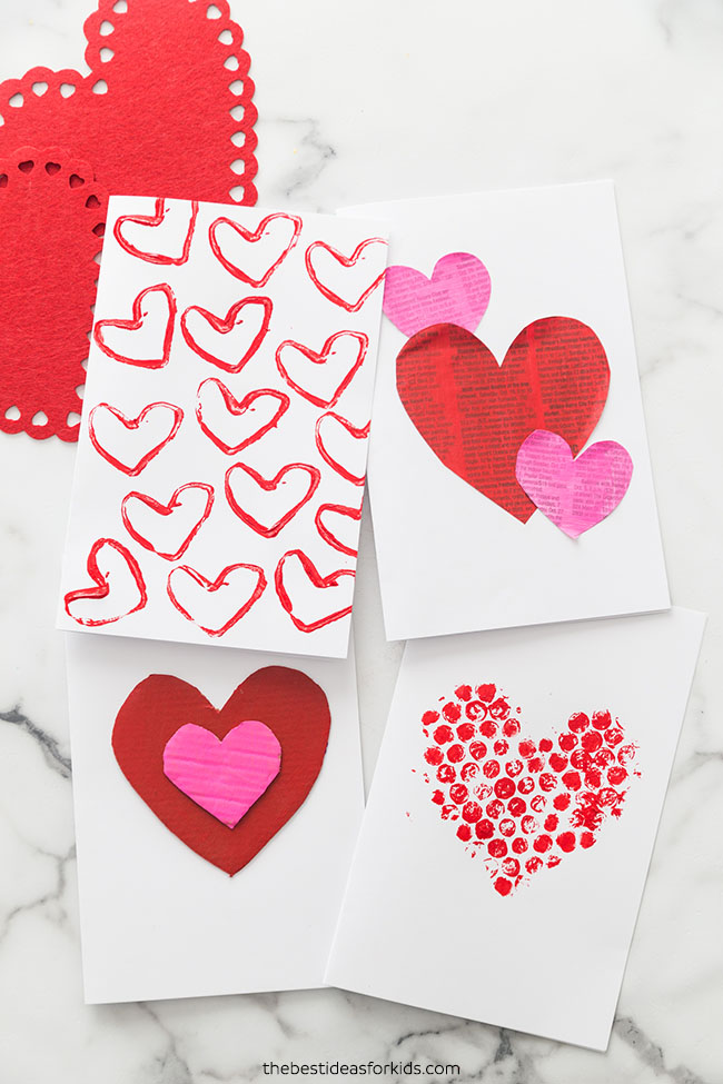 DIY Valentine Cards to Make