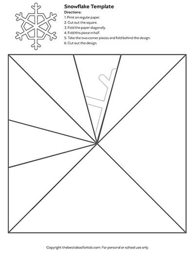 Template 3 - Snowflake