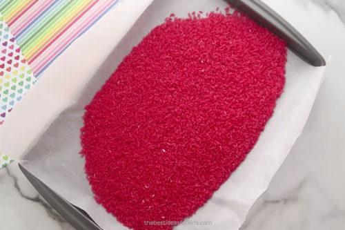 Let Rainbow Rice Dry