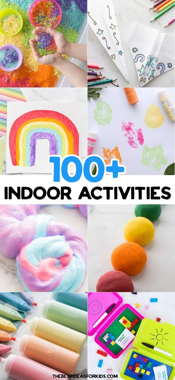 100+ Indoor Activities for Kids