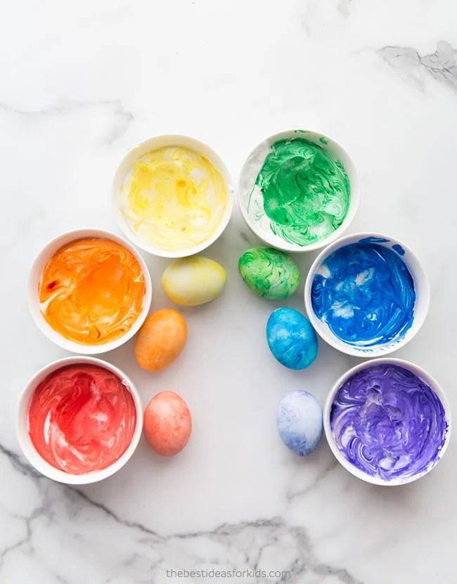 Cool Whip Easter Eggs Rainbow