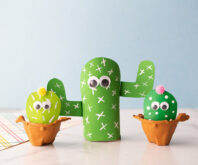 Toilet Paper Roll Cactus