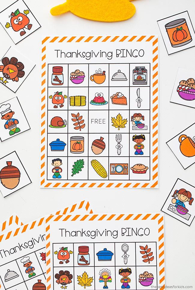 Thanksgiving Bingo Free Printable