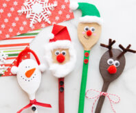 Wooden Spoon Christmas Crafts