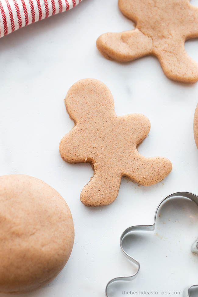 Gingerbread Man Playdough