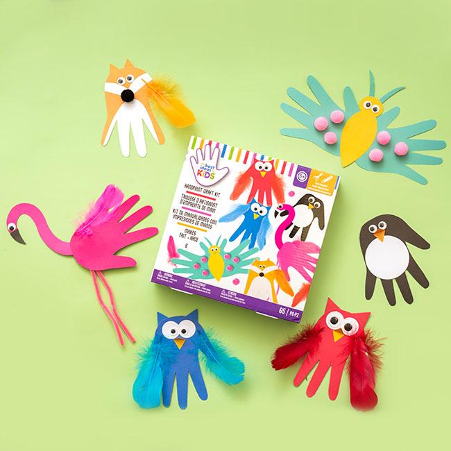 Handprint Craft Kit for Kids