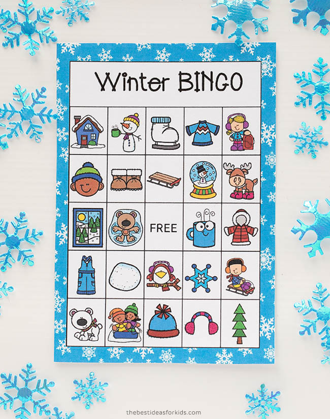 Winter Bingo Cards