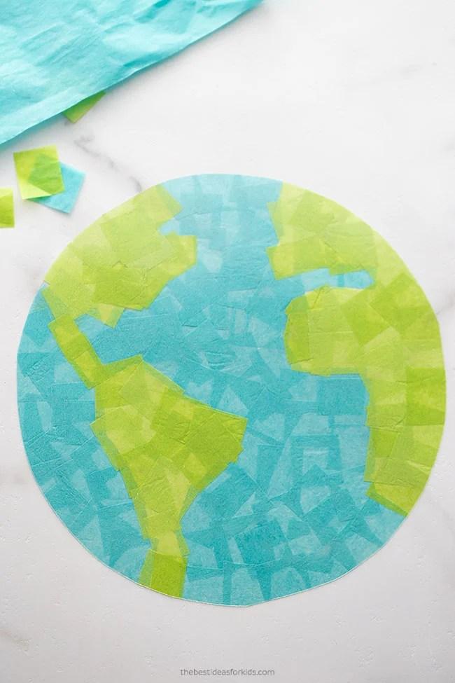 Earth Day Suncatcher Craft