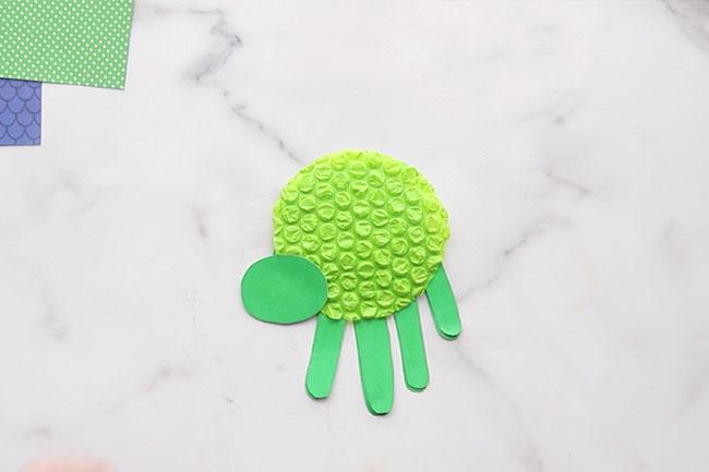 Glue on Turtle Head