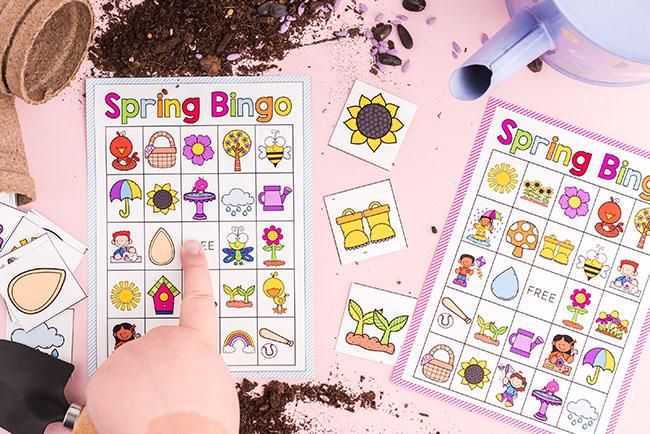 Spring Bingo Printables